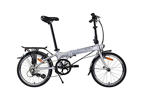 Massi Bicicleta Dahon Mariner D8, Sport, Plateado (Plateado)