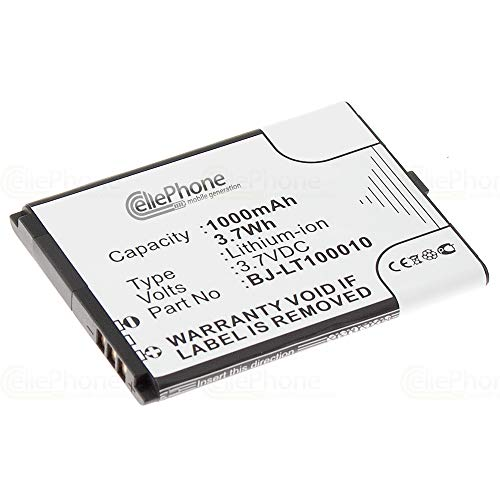 cellePhone Akku Li-Ion kompatibel mit Panasonic KX-TU327 KX-TU328 KX-TU339 (Ersatz für BJ-LT100010)