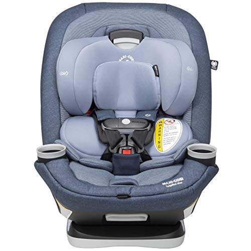 Maxi-Cosi Magellan Xp Max All-in-One Convertible Car Seat with 5 Modes & Magnetic Chest Clip, Nomad Blue, One Size