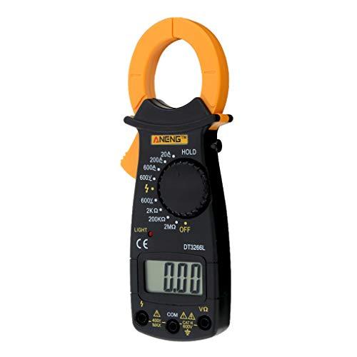 Morza ANENG Digital AC Clamp DT3266L Pantalla LCD multímetro Digital Sonda de Pinza amperimétrica sin la batería