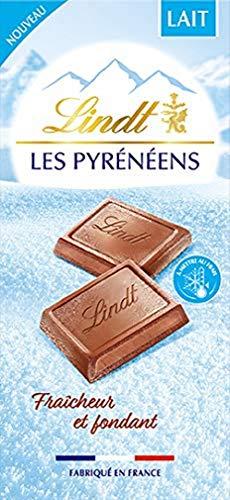 Lindt - Tablette LES PYRENEENS - Chocolat au Lait fondant - 150g