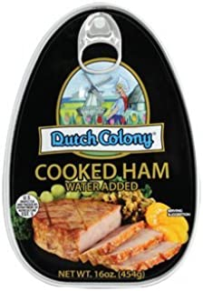 Dutch Colony Cooked Ham 16oz Can (Pack of 3)