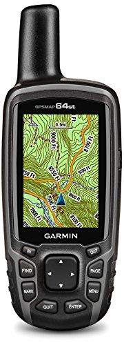 Garmin - GPSMAP 64st - GPS de Randonne Bouton Connect - Compas, Altimtre Baromtrique et Cartographie Prcharge - Noir/Gris