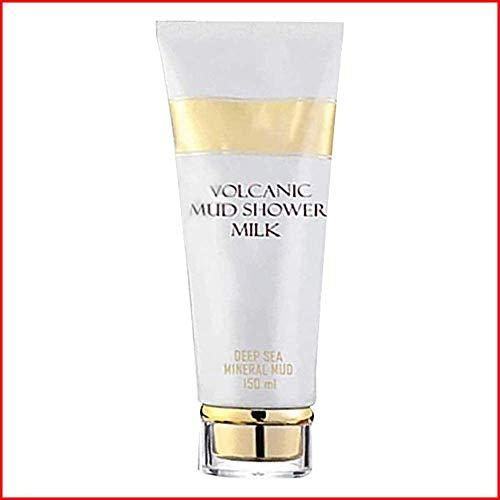 YYUU Whitening Volcanic Mud Bath Milk Cream, Whitening Shower Gel, Deep Whitening Body Wash for Exfoliating Body Lotion, Skin Care