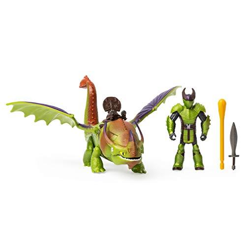 Dreamworks Dragons- Eret en Skullcrusher, draak met Vichingo, voor kinderen vanaf 4 jaar, meerkleurig, 6054790
