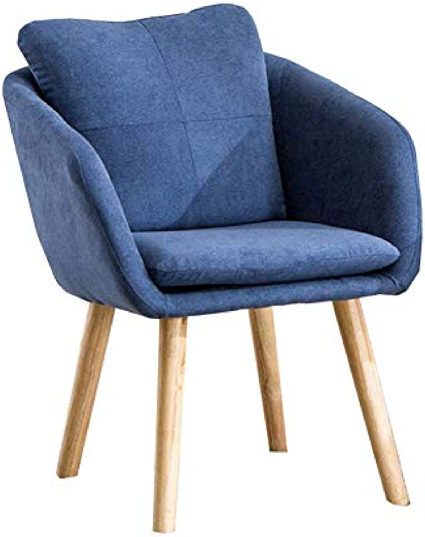 WYYY Bürostuhl Essstühle Retro Design Holzbeine Sessel Wohnzimmer Rückenlehne Stuhl Durable stark (Farbe   T5)