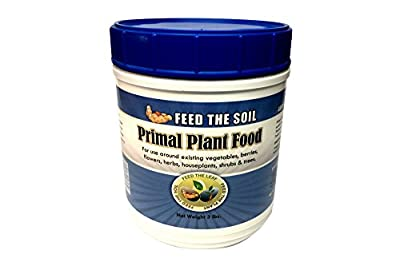 Eden's Secret's Primal Plant Food - The Best Organic Plant Food On The Market! This All-Purpose Garden Fertilizer Is Fast Acting And Perfect For Your Houseplants, Vegetables, Flowers, And More!