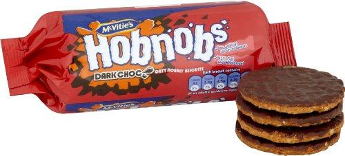 McVities Dark Chocolate Hob Nobs 300g