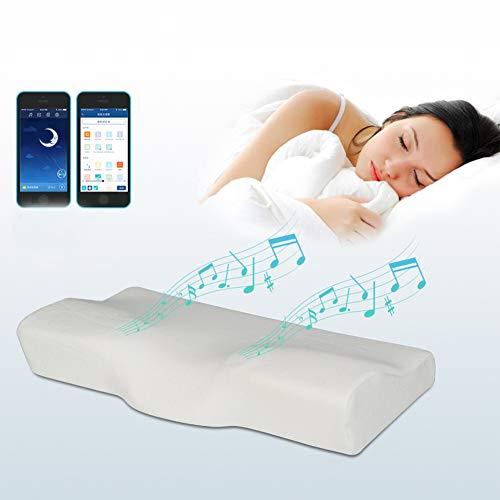 Pillow core-LGRMBBCY Suministre la Memoria de la música Almohada Alta hipnosis Control del sueño tecnología del sueño 3D Almohada Inteligente Almohada Inteligente