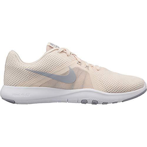 Nike Damen W Flex Trainer 8 Fitnessschuhe, Mehrfarbig (Guava Ice/Wolf Grey/Pure Platinum 001), 39 EU