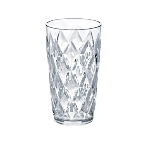 Koziol 451 ML Large Crystal Tumbler, Transparent