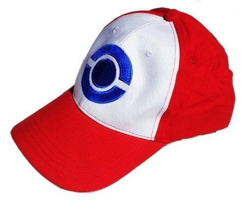 Pokemon Trainer Ash Ketchum Cap Hat - costume per adulti e bambini - perfetto per il carnevale, carnevale e cosplay - Tematiche signore uomini