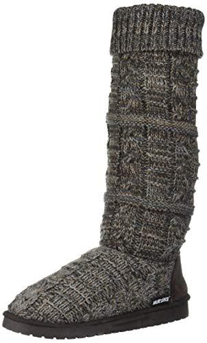 MUK LUKS Damen Women's Shelly Boots Mode-Stiefel, braun, 38 EU