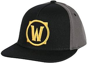 JINX World of Warcraft Iconic Stretch-Fit Baseball Hat, Gray, Adult Size