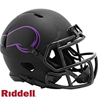 Riddell Minnesota Vikings 2020 Black Revolution Speed Mini Football Helmet