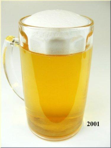 ERRO Getränke-Attrappe Bierkrug 0,4 Liter - Food Dummy, Replikat, Bier, Oktoberfest, Halbe, Bierglas, Krug, Helles