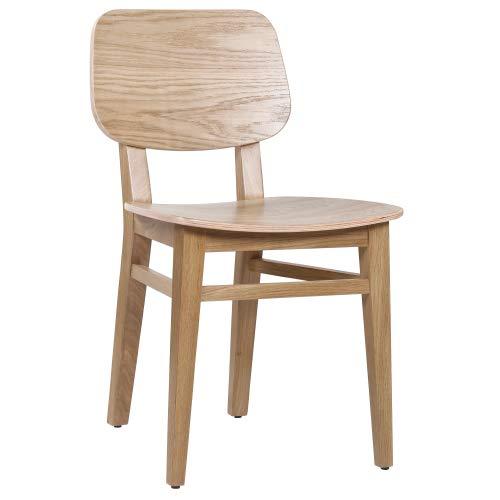 pemora Eichenstuhl Massivholz-Stuhl Esszimmerstuhl Küchenstuhl Holzstuhl Bistrostuhl Gastronomie Eiche massiv Oliver