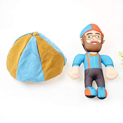 YCEOT Juguetes de Peluche 1 Pieza muñeco de Peluche de Peluche Suave Accesorios de Juguete para bebés Regalos de cumpleaños para niños y niñas Regalo de cumpleaños