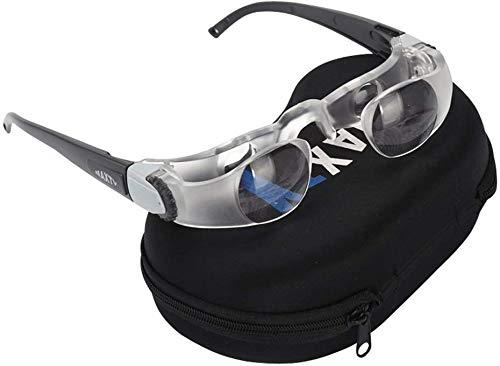 Televisie Vergrootglas 2.1X 0 tot +300 Graden Goggles Verrekijker Bril Handsfree Vergrootglas voor Verziendheid Kijken Oog Vergrootglas Presbyopie Presbyopische Vergrootglas