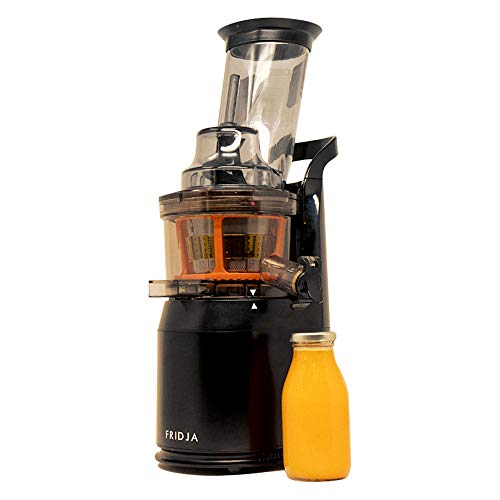 Fridja f1900 Cold Press Extractor de Jugo Slow Juicer - Boca de alimentación inclinable de 75MM
