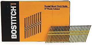 "Bostitch 1-1//2/"" x .148/"" Framing Nails Plastic Collated RH MC14815 5000"
