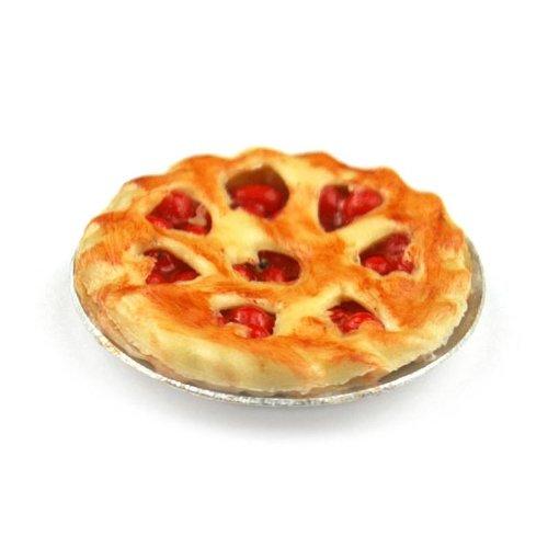 MyTinyWorld Poupées Miniature Profond Rempli Cherry Pie
