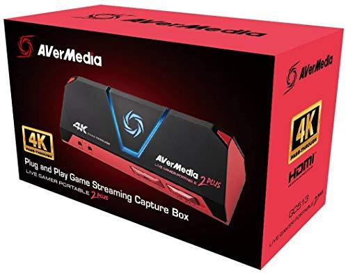 Placa de Captura AVerMedia GC513 Live Gamer 2 Plus Stream 4K USB