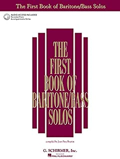 The First Book of Baritone/Bass Solos: Book/Online Audio (First Book of Solos)
