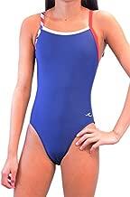 Ultrastar Girl's/Women's Color Block Thin Strap One Piece Swimsuit (UFN034)-Navy Combo-30