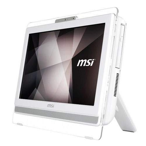 MSI All-In-One Pro 20EXTS 8GL-062XEU Monitor 19.5' HD+ Touchscreen Intel Pentium Silver N5000 Quad Core 1.1GHz RAM 8GB SSD 256GB DVD Super Multi 2xUSB 3.0 Free Dos