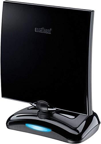 Meliconi AT-49 Antenna TV per Interni con Amplificazione fino a 49 dB, Ideale per la Ricezione del Segnale Digitale Terrestre, Portata max (Km): 30