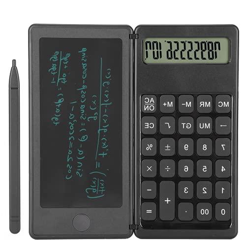 Calculadora Bloc de Notas, Tableta de Escritura LCD Calculadora con un botón de borrado Práctico para Adultos para el hogar