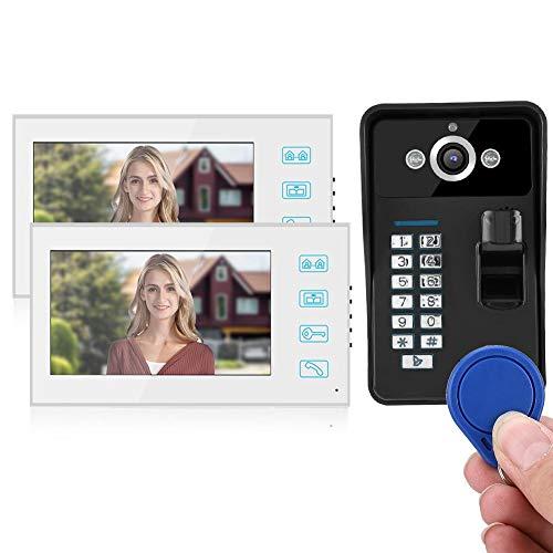 Timbre con cámara IR para portero automático, para intercomunicador manos libres, para TFT en color ultradelgado(European regulations)