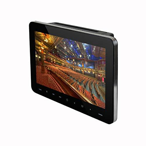 DVDプレイヤー リアモニター ヘッドレストモニター 9インチ DVD内蔵 車載用 フロントスピーカー HDMI USB ...