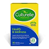 Culturelle Health & Wellness Daily Probiotic Supplement For Men and Women, Supports Natural Immune Defense, With a Proven Effective Probiotic, 15 Billion CFU's, 30 Count