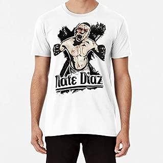Nate Diaz Art Premium TShirt, Unisex Hoodie, Sweatshirt For Mens Womens Ladies Kids