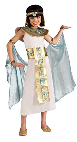 Cleopatra Costume, Blue, Large