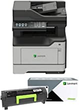 Lexmark MB2442adwe Monochrome Laser All-in-One Printer (36SC720) with Automatic Document Feeder and Copy Functions Plus Standard Wi-Fi, Ships with High Yield Black Toner Cartridge