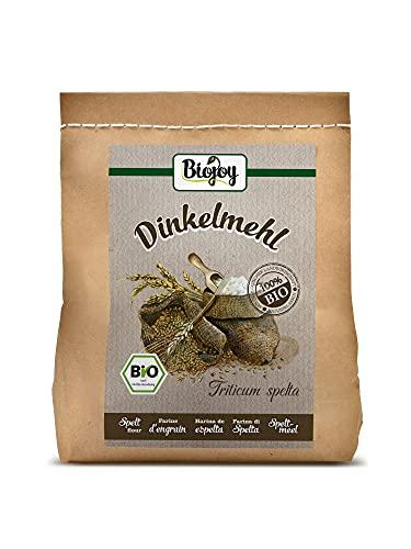 Biojoy Farina di Farro Spelta Bio, qualità naturale, senza additivi! (2 kg)