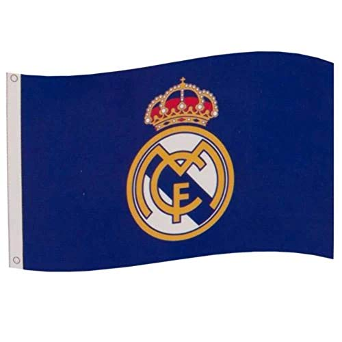 Real Madrid Football Club Official Large Flag Big Crest Game Fan Banner