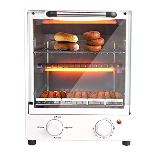SUWEN Mini-Ofen, kompakter Kleiner Ofen, kann Brot oder mehr backen, Leistung: 1.000 Watt, 11 Liter (Kleiner Ofen) 30 Minuten Timer