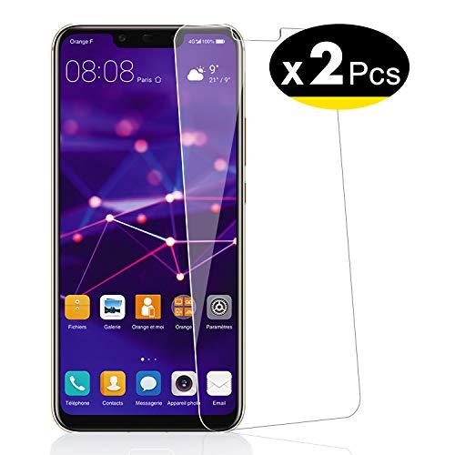 NEW'C Pellicola Protettiva in Vetro Temperato per Huawei Mate 20 Lite - Pacco da 2 Pezzi