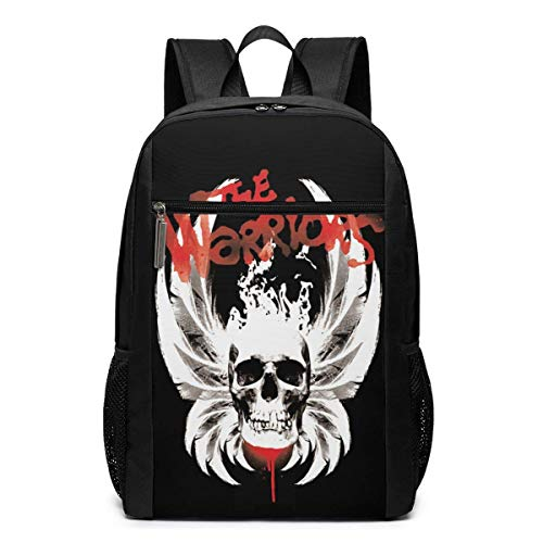 IUBBKI The Warriors Backpack Travel Laptop Business Anti Theft Slim Durable Laptops Backpacks Water Resistant College School Computer Bag Gifts for Men & Women Fits 17 Inch Notebook