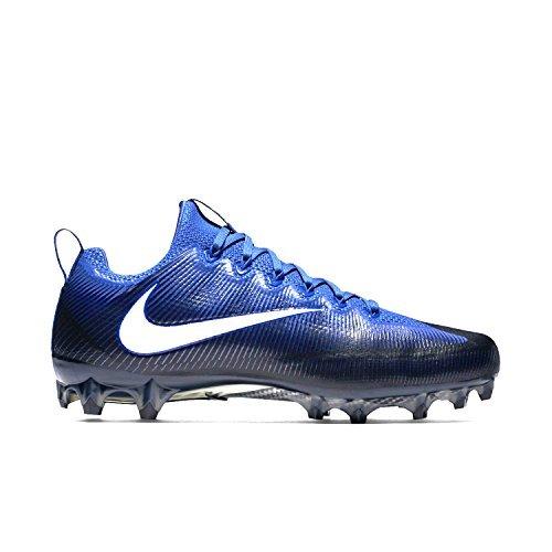 Nike Men's Vapor Untouchable 2 Football Cleat (13.5 D(M) US, Black/Blue)
