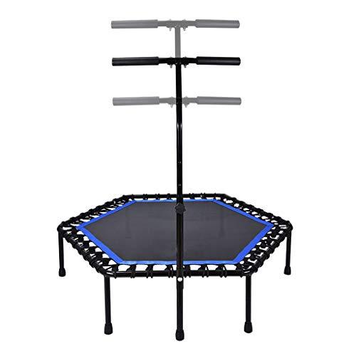 Cama elástica para adultos y niños. Peso máximo es de 150 kg de rebote, apta para el entrenamiento aeróbico en el jardín interior.