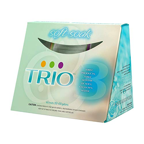 SpaGuard 43200 Trio Spa and Hot Tub 3 Month Pre Measured Water Softening Kit