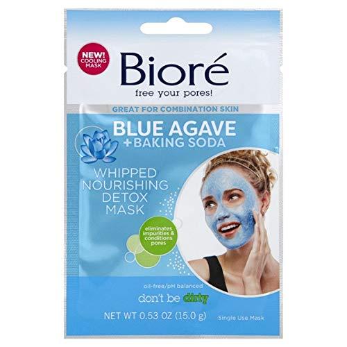 Biore Blue Agave + Baking Soda Mask Detox, 1 Ea, 1count