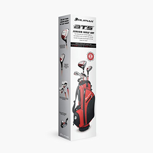 Orlimar Golf ATS Junior Boy's Red/Black Kids Golf Set (Right Hand Ages 9-12) (Red/Black)
