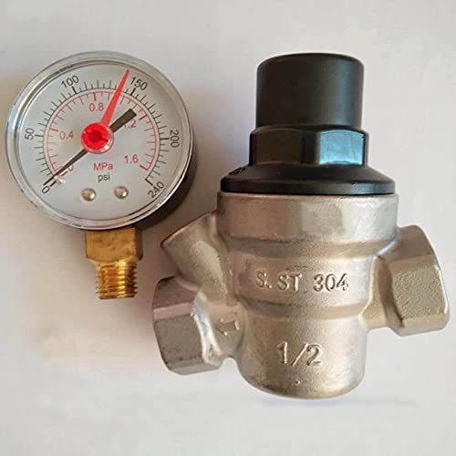 High quality new WFAANW 304 Stainless Cheap mail order sales Steel maintaining pressure water regulator