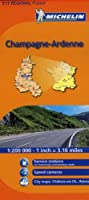 Michelin Champagne-Ardenne: 515 Regional France (Michelin Regional Maps)